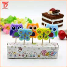 Crazy Animal shaped toothpick birthday candle