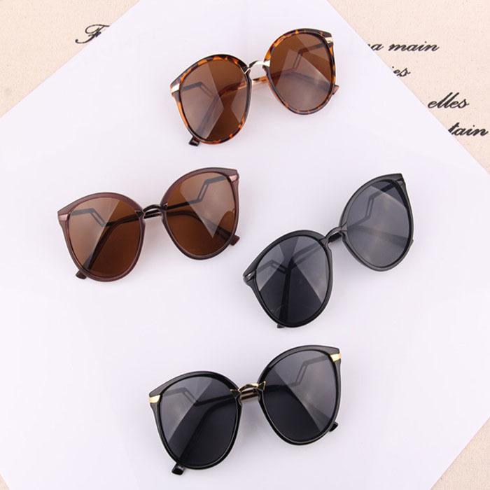 84d3a9fdbf3 Get Quotations · 2015 Fashion Summer sunglasses Retro Designer Super Round  Glasses Semi-Rimless Sunglasses Goggles women