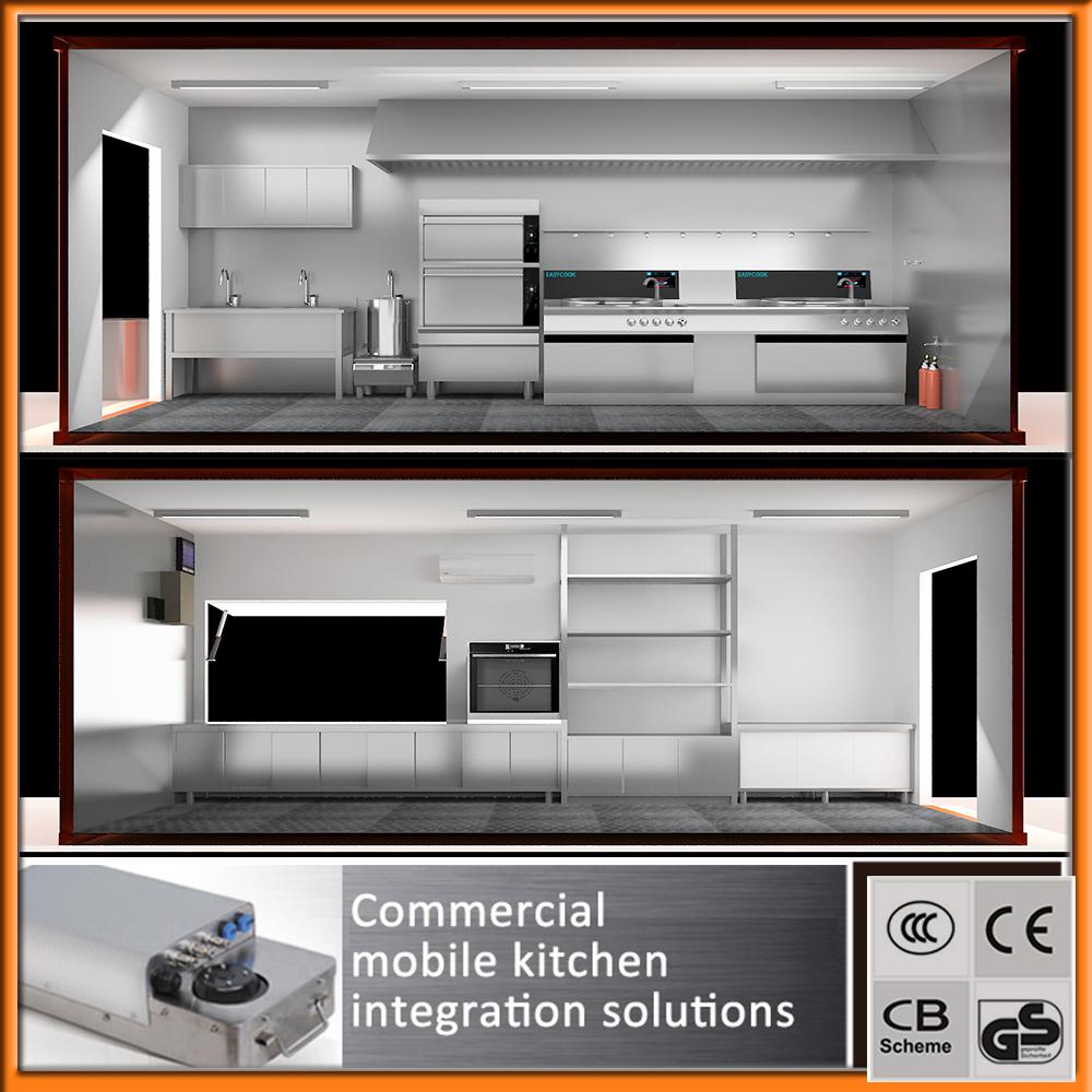 professionnel de fabrication de mobiles contenant de cuisine ... - Cuisine Professionnelle Mobile