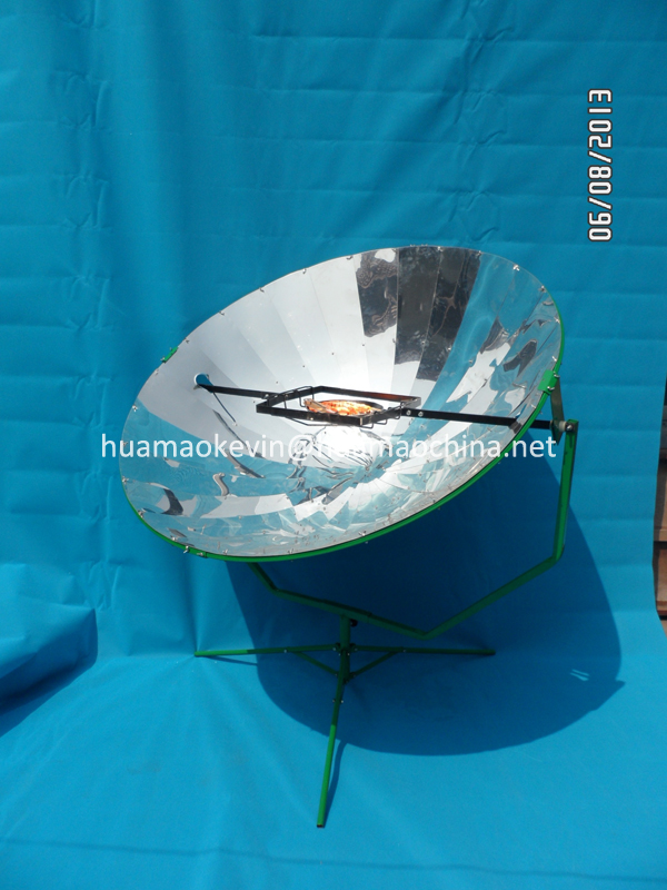 Solar Cooking / Sun dish cooker