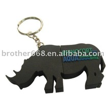 hot fashion Cute cow shape silicone USB drive cover