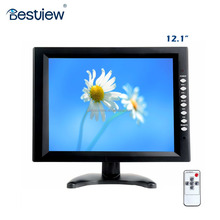 Cheap 12 inch touch screen tft lcd HDMI monitor with vga connector