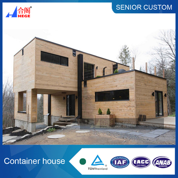 High quality prefab flat pack container house luxury container house for living