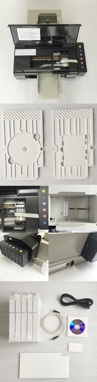 Automatic Cd Dvd & Pvc Card Printer Cd Dvd Disk Making Machine