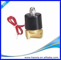 High quality G Thread 2/2Way 12 volt Solenoid Valve for water air gas oil
