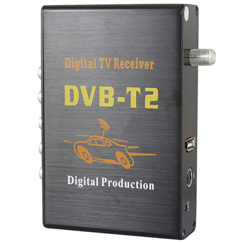 4 Way H.264 <strong>MPEG4</strong> Mobile Car DVB-T2 <strong>HD</strong> Digital TV <strong>Receiver</strong>