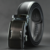 ab017 Produce Mix Order Cowhide Automatic Buckle Belt for Men