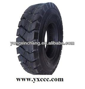 OB-502 pneumatic tire, industrial truck OTR solid tyre, 18x7-85 tire