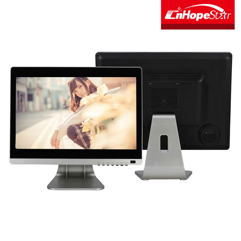 Desktop 21.5 inch capacitive touch screen LCD monitor for pc computer vga usd hd