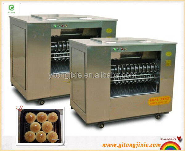 Automatic bread pizza dough divider rounder dough rolling machine