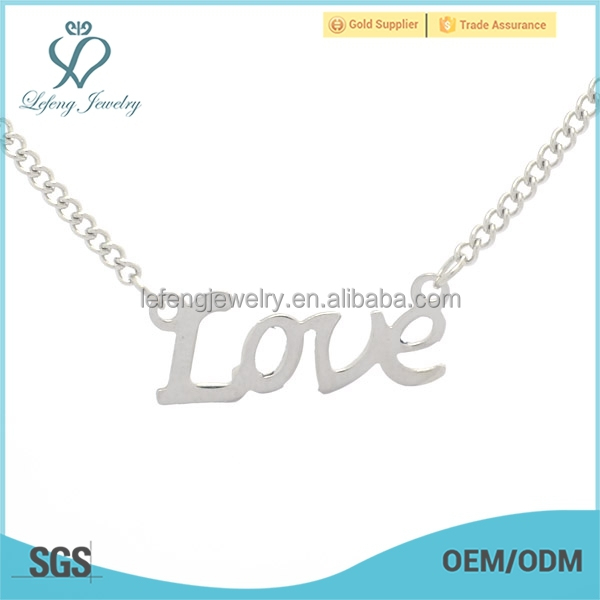 LOVE charms and necklaces for sisters,children charms for necklaces,chains necklaces type n ecklace jewelry