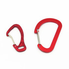 D Carabiner Rubber Coated Carabiner Wire Gate Carabiner