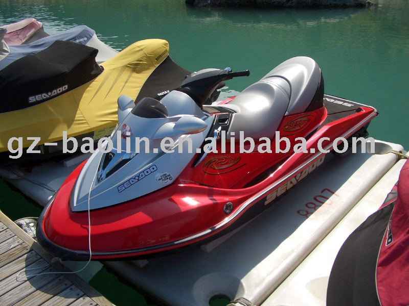 solid and durable plastic jet ski float