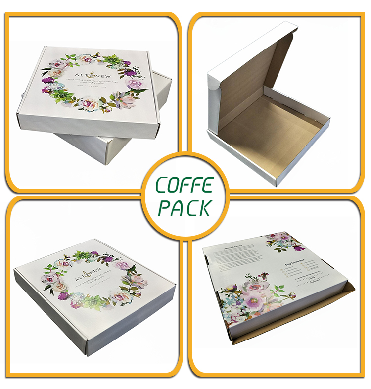 Professional design hair extension wig packaging box paper corrugated box with logo printing