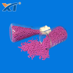 8% Activated Alumina Potassium Permanganate price to remove ethylene and formaldehyde
