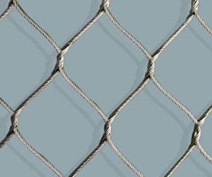 7x7 stainless steel ferruled rope mesh