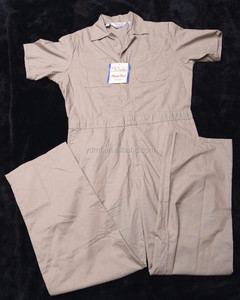 coverall short sleeve worker uniform workwear