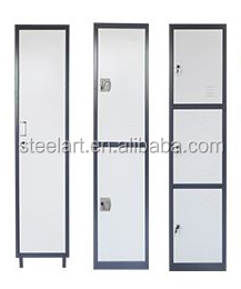 Smart steel locker cabinet with safety locks design for storage