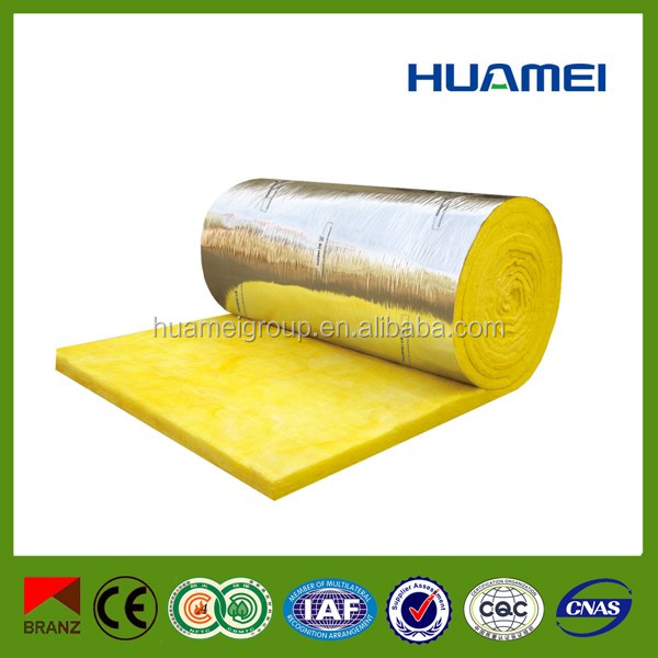 thermal acoustic insulation glass wool duct insulation