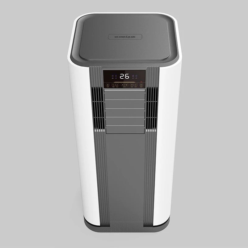 Mobile portable air conditioner portable for home using