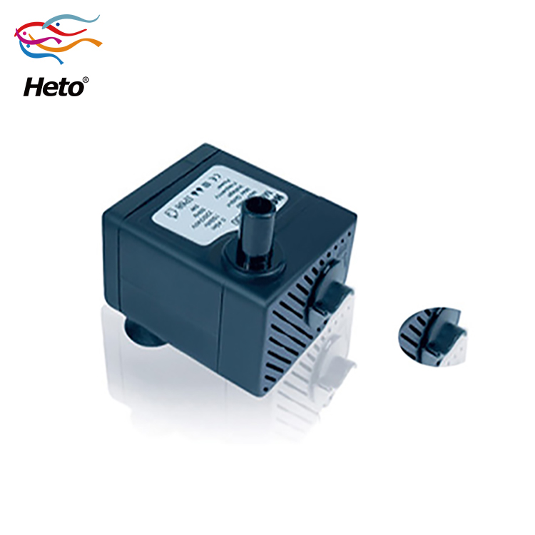 New hot selling,cheap,small design mini water pump , 2W ,Flow 330L/H(72.6gallon), head 0.42m Aquarium Submersible water Pump