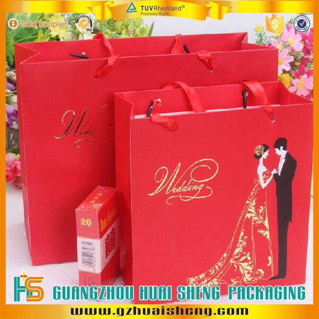 Creative Paper Gift Bags Redindian Wedding Weddinghandmade Christmas