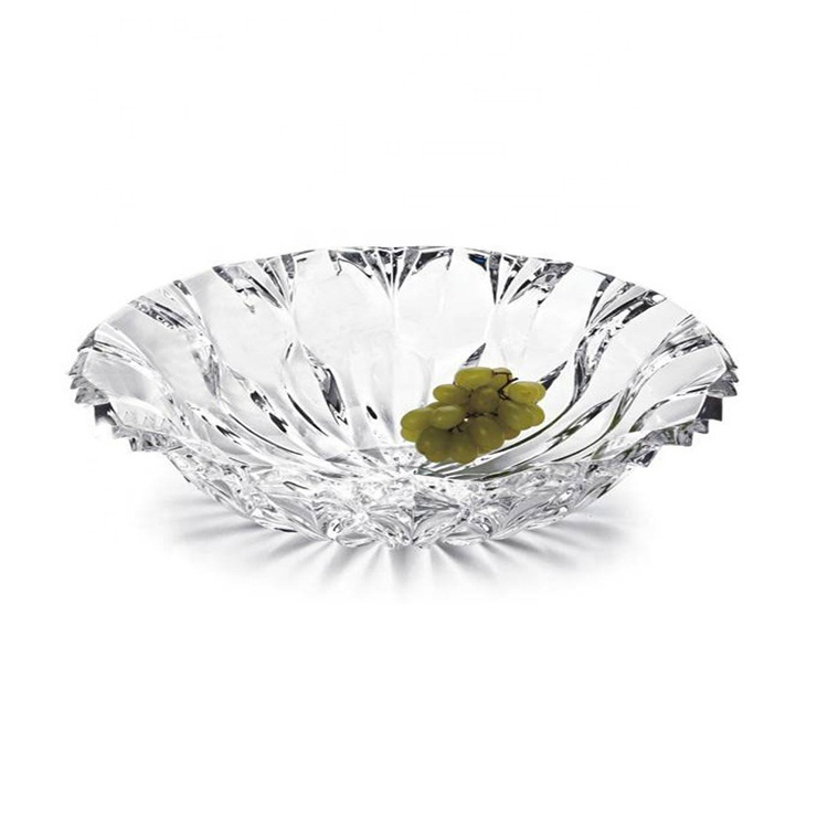New Design Factory Wholesale Crystal Fruit Tray