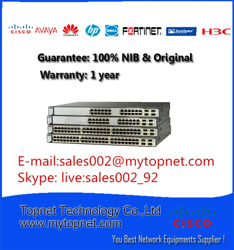 Cisco Multilayer Switch WS-C3750X-48P-L in Kuwait