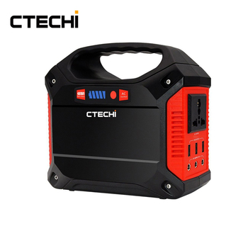 Ctechi Portable Generator Power Inverter 42000mah 155wh Rechargeable Battery Pack Emergency Power Supply For Outdoor Camping Hom Buy Bateria