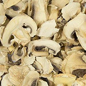 Harmony House Foods, Dried Mushrooms, sliced, 5 lb. Bulk Box (12x12x12)