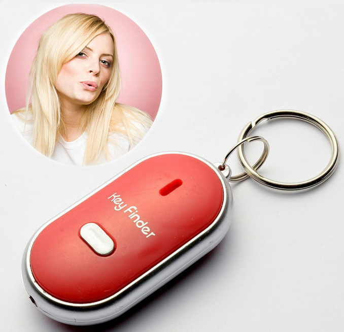 Custom sound key finder whistle <strong>alarm</strong> with your voice