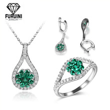 2019 New Design Women 패션 Crystal Diamond 웨딩 Bridal Jewelry Set