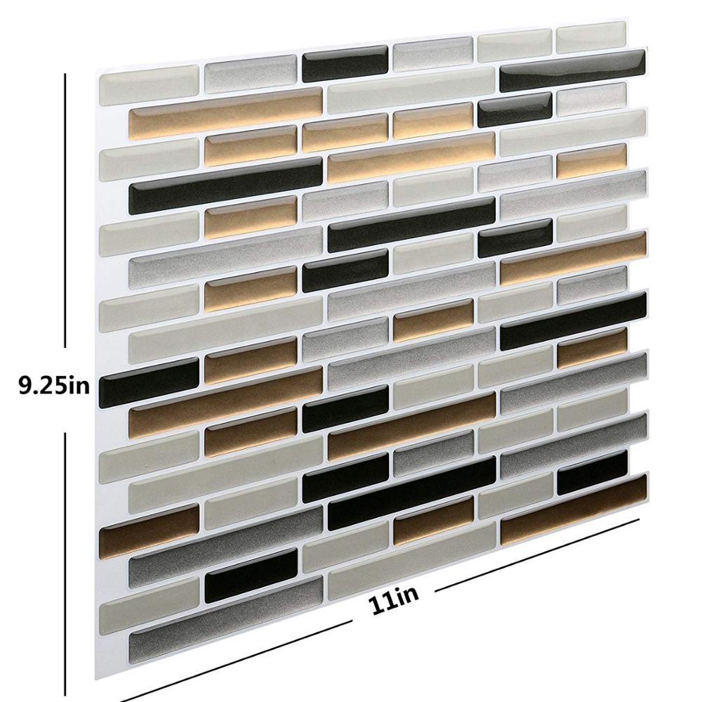 3D Wallpaper Brick Stone Home Decor DIY Sticker фото