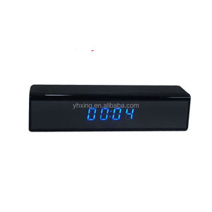2017 Newest 1080P Full HD Wifi Hidden Spy clock camera, P2P Wifi Alarm Clock with Night Vision & Motion Detection