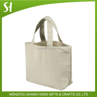 Lady Red Canvas Foldable Shopping Bag