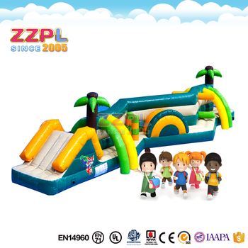 Zzpl Inflatable Water Sports Games Obstacle Assault Course
