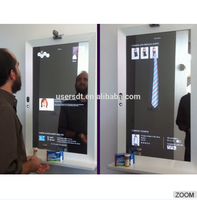 32inch bathroom smart mirror lcd display, Digital signage screen displays