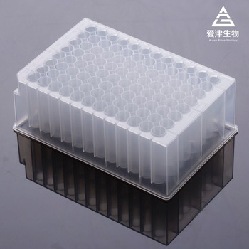 2.0ml 96 Round Deep Well Plates -SBS Standard-PP material