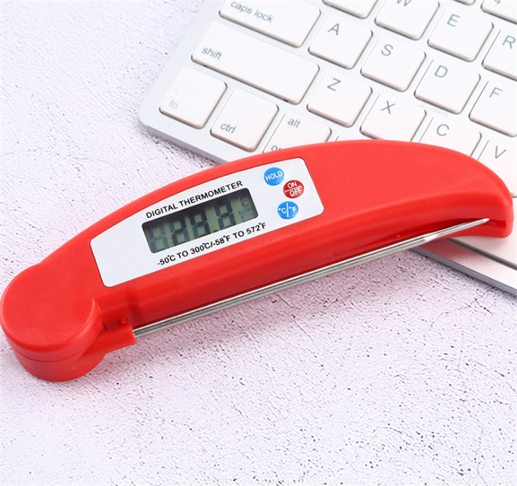 Kitchen digital food thermometer folding Electronic thermometer