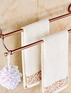 XP HOME Towel Bar Gold Wall Mounted 64*15*10cm(25.2*5.9*3.9inch) Brass / Zinc Alloy Neoclassical