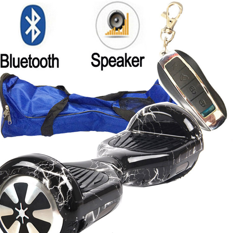 6.5 Inch Two Wheel Balance Scooter Bluetooth Speaker Self Balancing Scooter