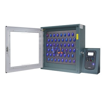 Landwell Electronic Key Box Cabinet For Tracing With 32 Slots