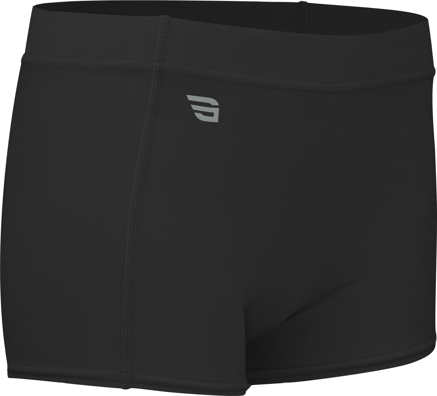 "Game Gear HT-117-CB Women's 4"" Heat Tech Athletic Volleyball Compression Form Fit Sport Short"