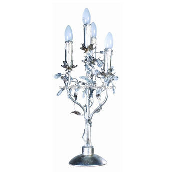 Crystal Indoor Iron Chandelier Decoration Table Lamp For Home
