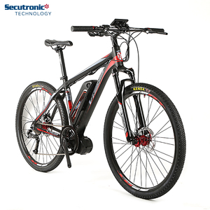 The Fast City 28 inch Center Motor 28' Frame Mid Drive E Cycle Cube Electric Bike For Tall Men