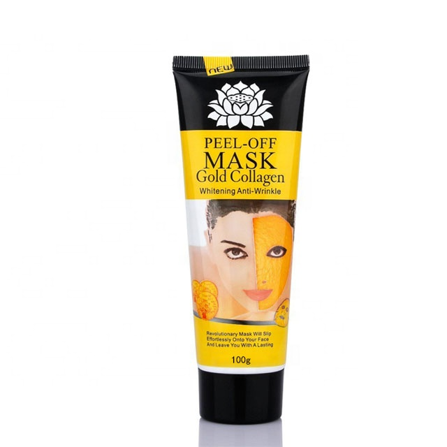 Private Label La Cura del Viso Sbiancante Anti Rughe 24 k del Collageno Maschera Peel Off