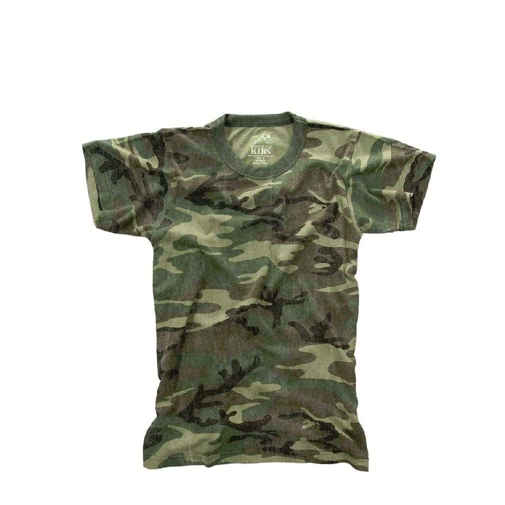 BlackC Sport Kids Vintage Camo Short Sleeve T-Shirt