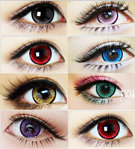 2018 Hot Sale Color Contact Lens Soft Comfortable Colored Yearly Circle Eye Contact Lenses