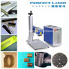 Perfect laser 10 20w animal ear tag laser marking machine