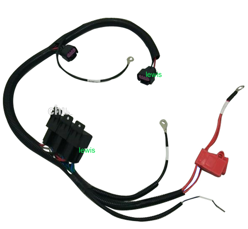 gm fan wiring dual fan wire harness engine cool fan connector wire kits three  dual fan wire harness engine cool fan